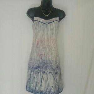 ANTHROPOLOGIE Viola Spaghetti Strap Dress Size 2
